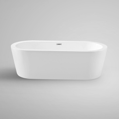 "Aifol 67"" Inches Modern Freestanding Bathtub Acrylic Soaking SPA Tub for Home, White"