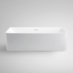 Aifol 71 Inch Modern Acrylic Soaking Deep Square Cheap Bathtub