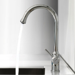 Aifol Elegant Single Handle  Sprayer Kitchen faucets, Polished Chrome