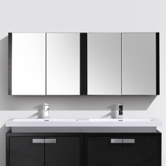 "Aifol 60"" Extra Large Makeup Storage Bathroom Vanity Mirror"