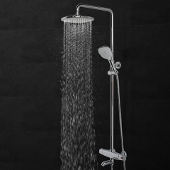 Aifol 3-Way Full-Chrome Ultra-Luxury Shower Head Handheld Shower Combo with Patented ON/OFF Pause Switch