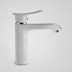 Aifol Bathroom Sink Faucet for Undercounter Vanity sink , Modern Polished Chrome Lavatory Faucet, Single Handle Bathroom Water Faucet for One Hole Sink