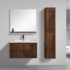"Aifol  New fashion Wall Mounted Single Sink 36"" Bathroom Vanity Cabinet"