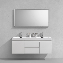 "Aifol Hot Sale Bathroom Double Sink Living Room 60"" Bath Vanity Cabinet"
