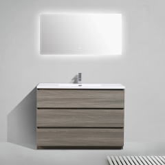 "Aifol 48"" Nina  Modern Bathroom  Cabinet and Storage, Modern Bathroom Vanity"