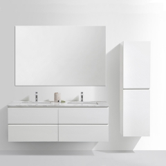 Aifol  48-inch High Quality Double Sink Moistureproof Bathroom Vanity