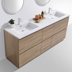 "Aifol 60""Modern Simple Design Hotel MDF Floor Standing Bathroom Vanity"