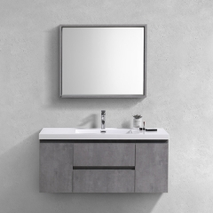 "Aifol  Cheap European Style Modern 48"" Bathroom Storage Cabinet Vanity Units"