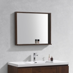 Aifol 33 Inch Wholesale Small Size Wall Mounted Mirror Framed