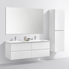 Aifol  48-Inch High Quality Moistureproof Single Basin Wall Hanging Bath Vanity