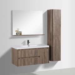 Aifol  Top Selling Wall Hung Single Sink MDF 42