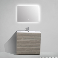 Aifol Modern Chinese Single Sink Basin Floor 36 Bathroom Vanity