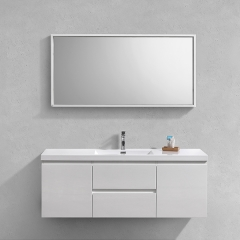 "Aifol  High Quality Single Sink Living Room Floating 48"" BathroomVanity Set"