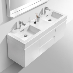 Aifol Hot Sale Bathroom Double Sink Living Room 60