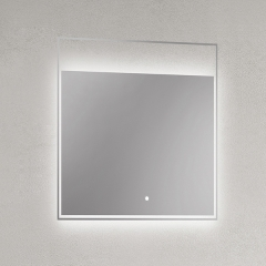 Backlit 24 Inch Cheap Bath Wall Decor Smart LED Light Up Mirror