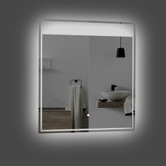 Aifol 24 Inch Small Bath Decorative Makeup Smart Mirror with Lights