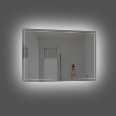 Aifol 36 Inch Small Decorative Wall LED Make Up Bathroom Mirror