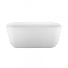 Aifol Bathroom Freestanding Soaking Matt Finish Acrylic Bathtub