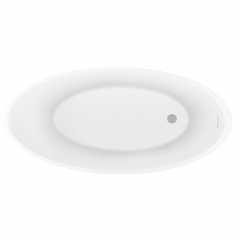 Aifol hot bathroom soak matt finish acrylic bathtub