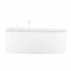 Aifol Modern Teen Freestanding Hotel Soaking Acrylic Bath Tub