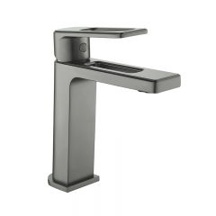 Aifol Handle Wash Basin Brass Faucet Bathroom Tap